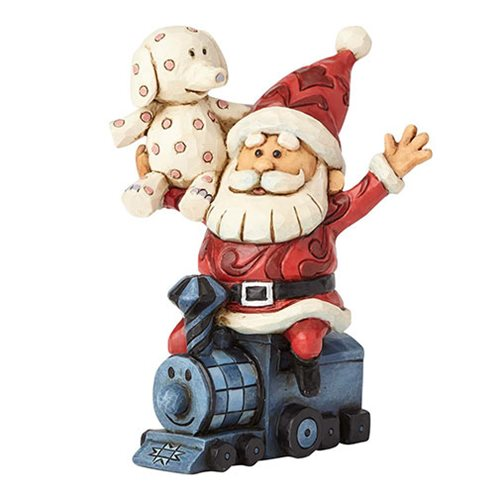 Rudolph the Red-Nosed Reindeer Santa with Misfits Statue