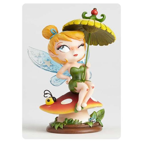 Disney The World of Miss Mindy Peter Pan Tinker Bell Statue