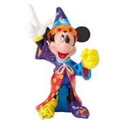 Disney Mickey Mouse Sorcerer Mini-Statue by Romero Britto