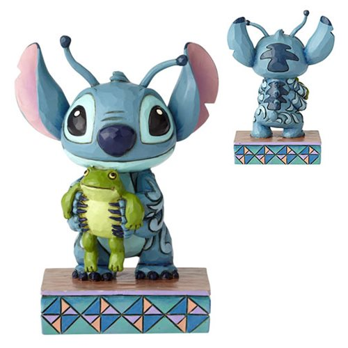 Disney Traditions Lilo and Stitch Personality Pose Statue