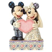 Disney Traditions Wedding Mickey and Minnie Mouse Statue