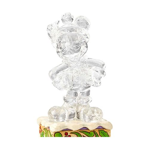 Disney Traditions Ice Bright Mickey Mouse Illuminated Statue by Jim Shore