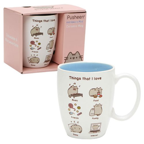 Pusheen_the_Cat_Things_I_Love_12_oz_Mug