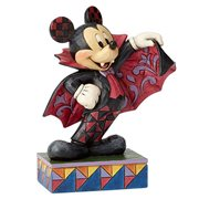 Disney Traditions Colorful Count Vampire Mickey Mouse Statue