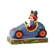 Disney Traditions Soap Box Derby Mickey Mouse Statue