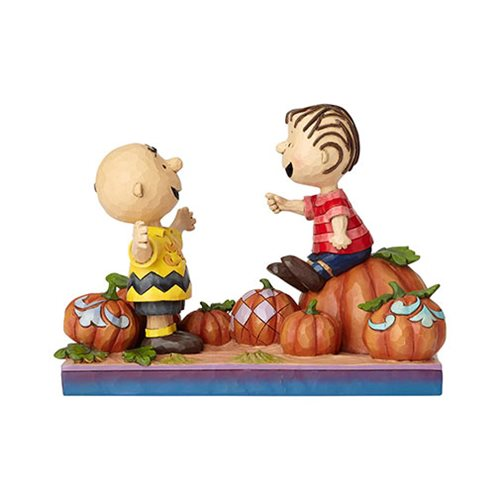 Peanuts_Charlie_Brown_and_Linus_Pumpkin_Patch_Pals_Statue_by_Jim_Shore