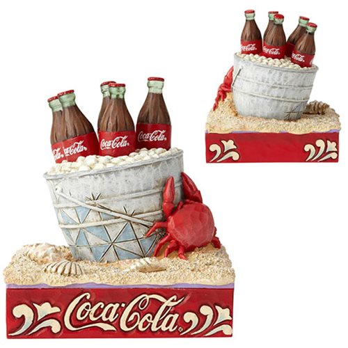 CocaCola_Coke_Ice_Bucket_on_Beach_Statue_by_Jim_Shore