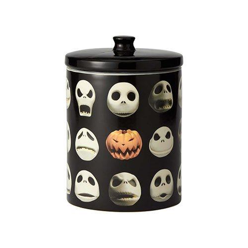 Nightmare Before Christmas Jack Skellington Faces Cookie Jar