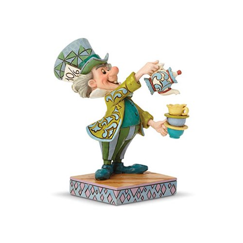Disney Traditions Alice In Wonderland Mad Hatter A Spot of Tea Statue by Jim Shore