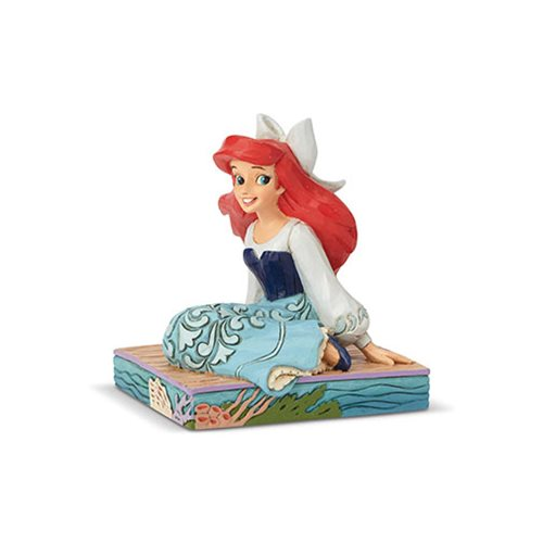 Disney Traditions The Little Mermaid Ariel Personality Pose Be Bold Statue by Jim Shore