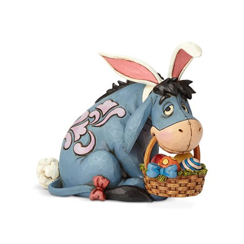 Disney Traditions Winnie the Pooh Eeyore as Easter Bunny Eeyore Cottontail Statue by Jim Shore