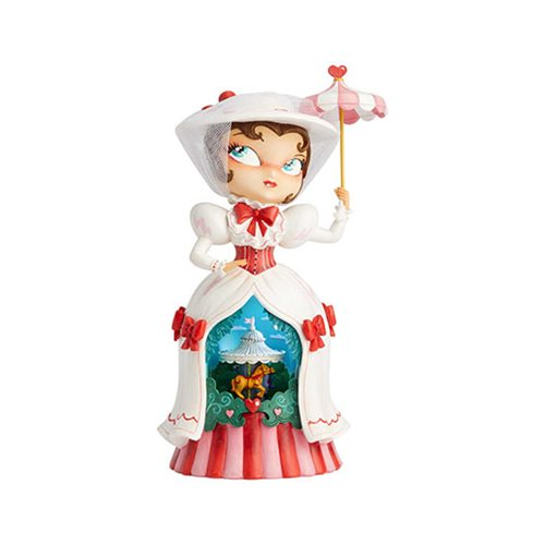Disney The World of Miss Mindy Mary Poppins Musical Statue