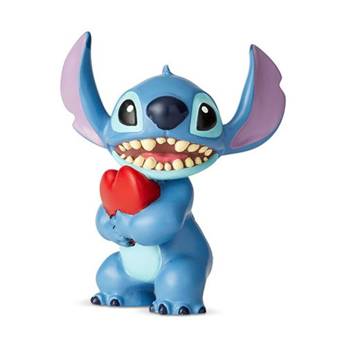 Disney Showcase Lilo & Stitch Stitch with Heart Mini Statue