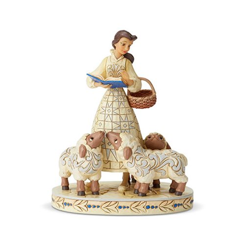 Disney_Traditions_Beauty_and_the_Beast_Belle_White_Woodland_Bookish_Beauty_Statue_by_Jim_Shore