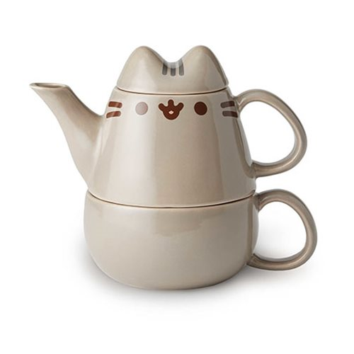 Pusheen_the_Cat_Tea_for_One_10_oz_Tea_Set