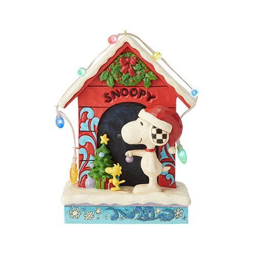 Peanuts_Snoopy_by_Dog_House_Merry_and_Bright_by_Jim_Shore_Statue
