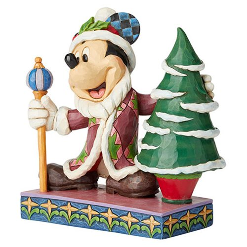 Disney Traditions Mickey Father Christmas Jolly Ol' St. Mick by Jim Shore Statue