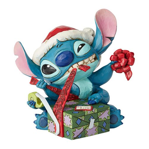 Disney_Traditions_Lilo_&_Stitch_Santa_Stitch_Wrapping_Present_Bad_Wrap_by_Jim_Shore_Statue