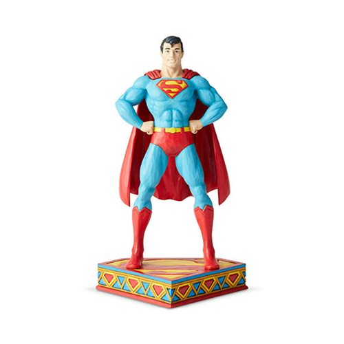 UPC 028399156917 product image for DC Comics Superman Silver Age Statue by Jim Shore | upcitemdb.com