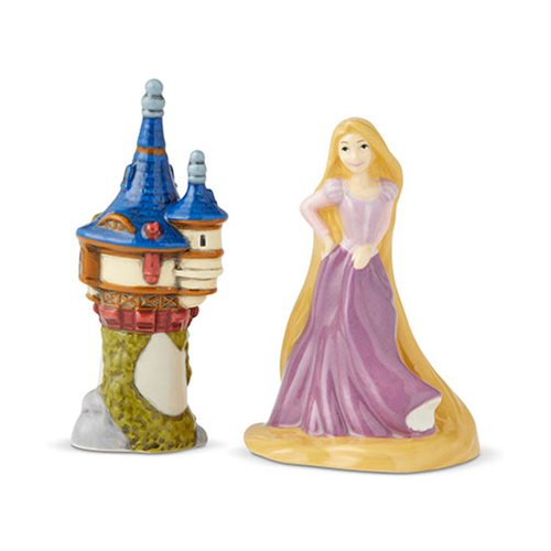 Tangled Rapunzel and Tower Salt and Pepper Shaker Set