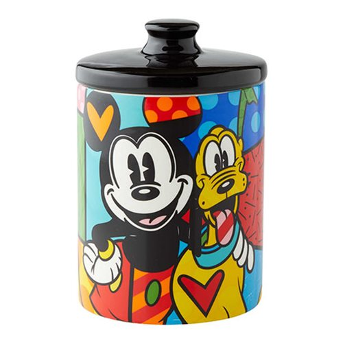 Disney Pluto Canister Cookie Jar by Romero Britto
