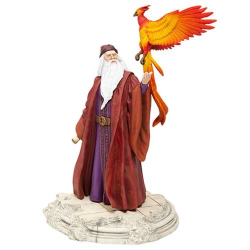 Harry_Potter_Albus_Dumbledore_with_Fawkes_Statue