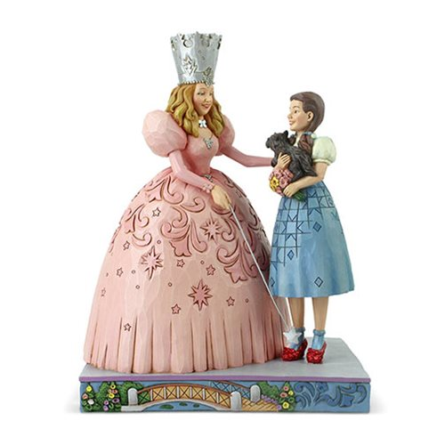 Wizard_of_Oz_Glinda_and_Dorothy_Ruby_Slippers_by_Jim_Shore_Statue