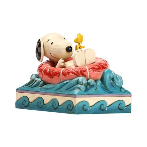 Peanuts_Snoopy_and_Woodstock_in_Floatie_Float_Away_by_Jim_Shore_Statue