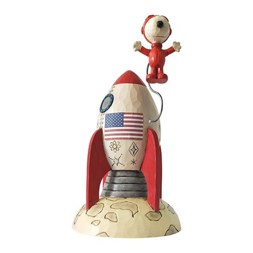 Peanuts_Snoopy_Astronaut_The_Beagle_Has_Landed_by_Jim_Shore_Statue