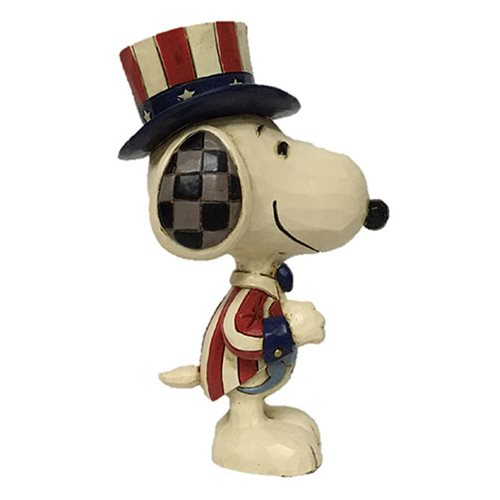 Peanuts_Snoopy_Mini_Patriotic_by_Jim_Shore_Statue