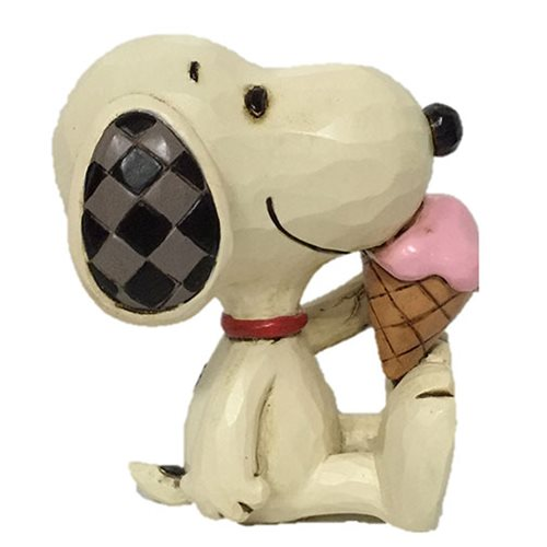 Peanuts_Snoopy_with_Ice_Cream_Mini_by_Jim_Shore_Statue