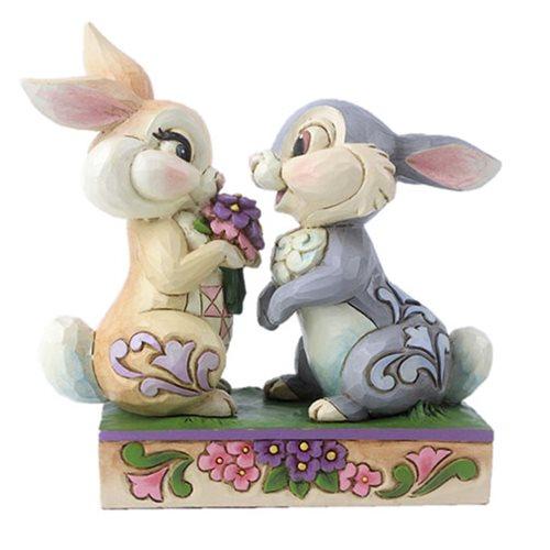 Disney_Traditions_Bambi_Thumper_and_Blossom_Snuggling_Bunny_Bouquet_by_Jim_Shore_Statue