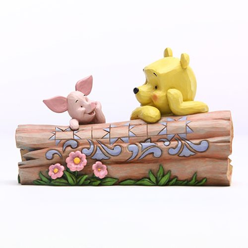 Disney_Traditions_Winnie_the_Pooh_Pooh_and_Piglet_by_Log_Truncated_Conversation_by_Jim_Shore_Statue