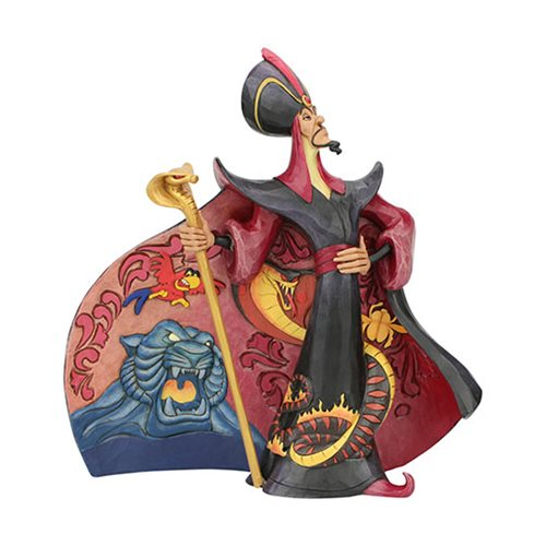 Disney Traditions Aladdin Jafar Villainous Viper by Jim Shore Statue