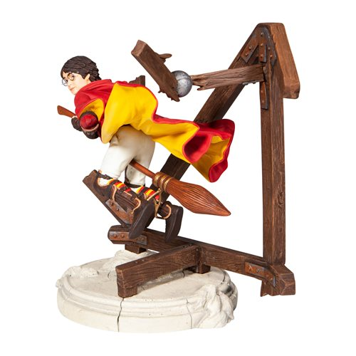 Wizarding World of Harry Potter Harry Quidditch Year Two Statue