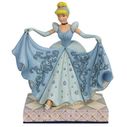 Disney Traditions Cinderella Transformation A Wonderful Dream Come True Statue by Jim Shore