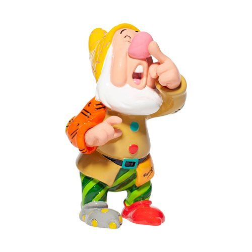Disney Snow White and the Seven Dwarfs Sneezy Mini-Statue by Romero Britto