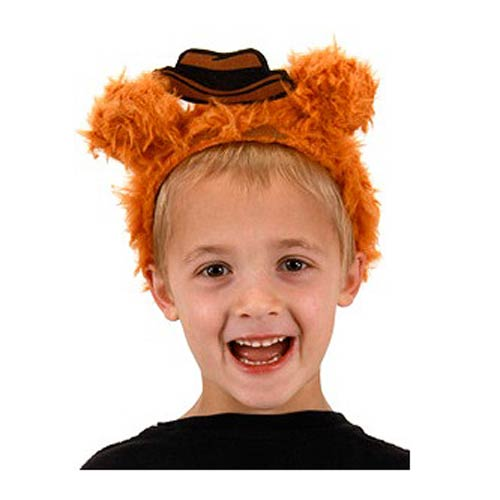 Muppets Fozzie Bear Fuzzy Costume Headband