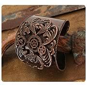 Steampunk Antique Copper Cuff