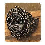 Steampunk Antique Single Gear Ring