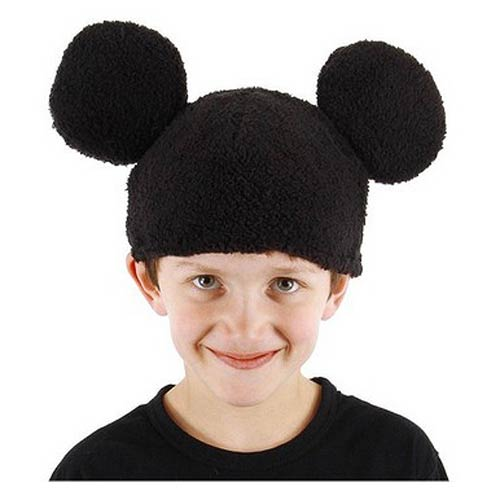 Mickey Mouse Beanie Hat with Ears
