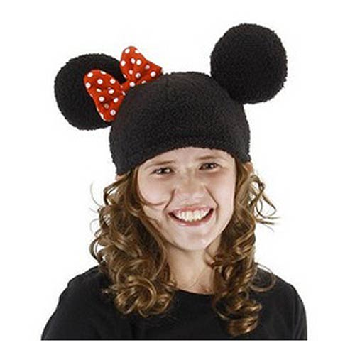Minnie Mouse Beanie Hat with Ears