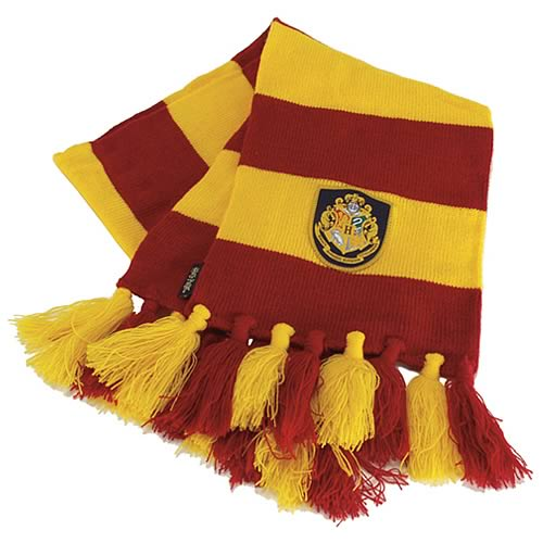 Harry Potter Hogwarts Striped Scarf