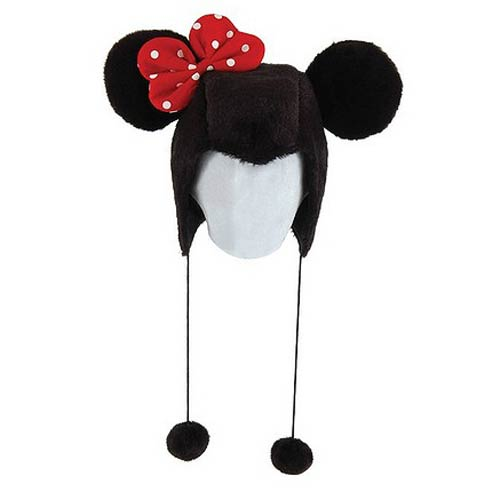 Minnie Mouse Laplander Hat with Ears