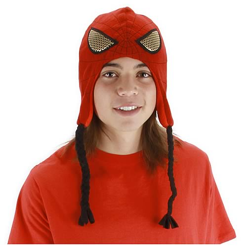 Spider-Man Knit Laplander Hat