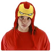 Iron Man Knit Laplander Hat