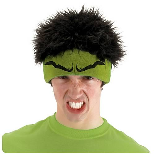 Hulk Knit Beanie Hat With Hair