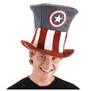 Captain America Novelty Hat