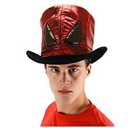 Spider-Man Black and Red Novelty Hat