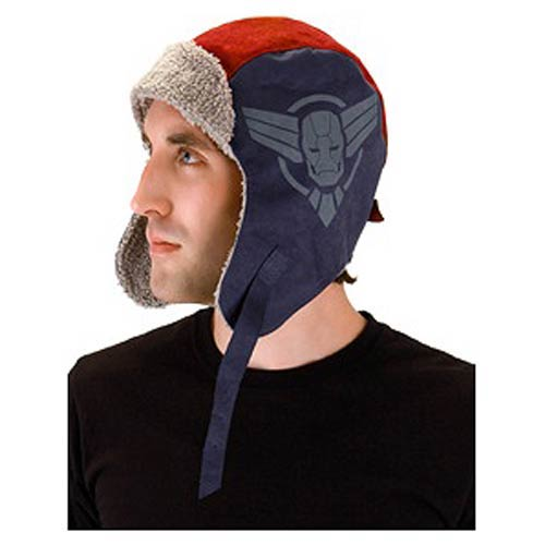 Iron Man 3 Iron Patriot Aviator Laplander Hat